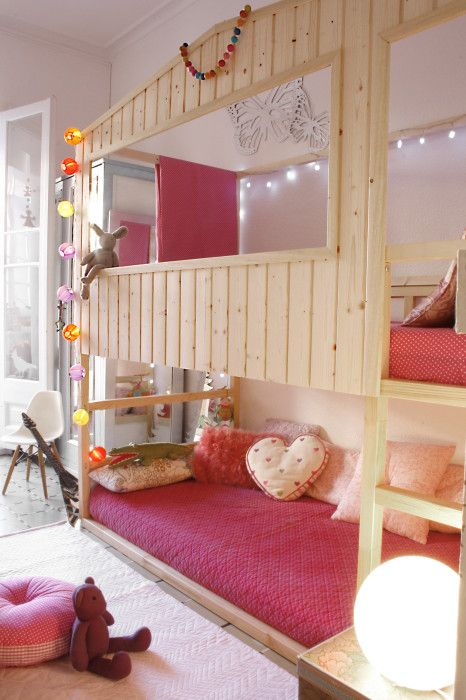 Ikea Kura bed turned to a dream house