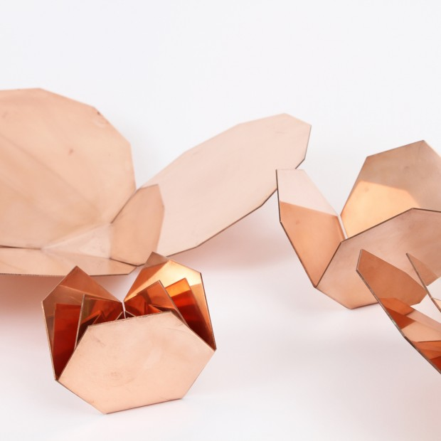 Copper Furniture Pieces And Lamps