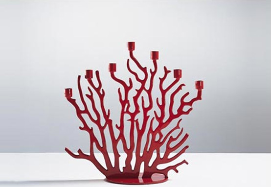 Coral Inspired Candle Holder