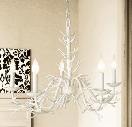 Coral Inspired Chandalier