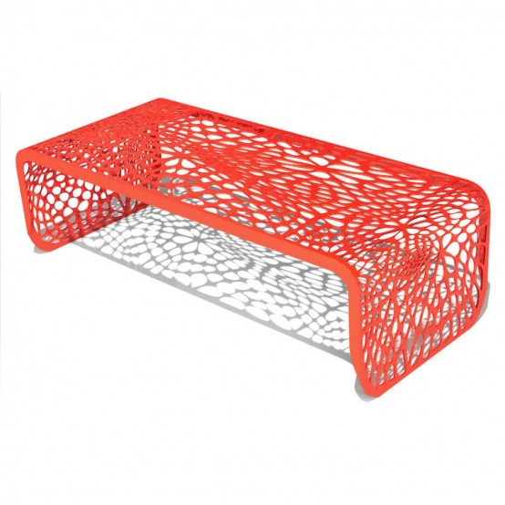 Coral Inspired Coffee Table