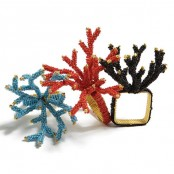 Coral Inspired Napkin Rings