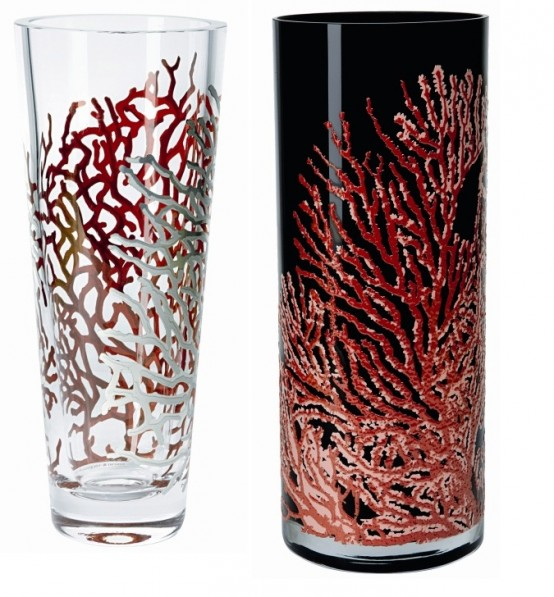 Coral Inspired Vases