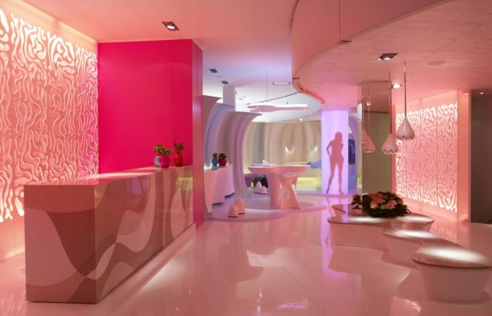 Corian Living Space By Karim Rashid