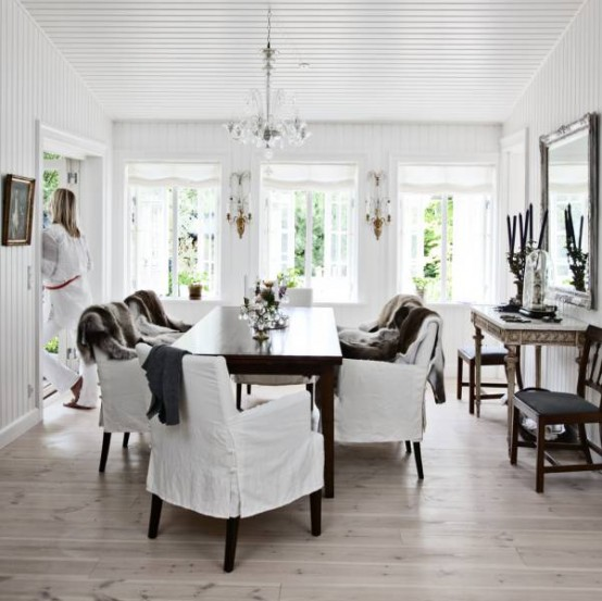 Scandinavian Country Style Interior Design. Countrystyle House
