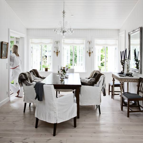 Scandinavian Country Style Interior Design