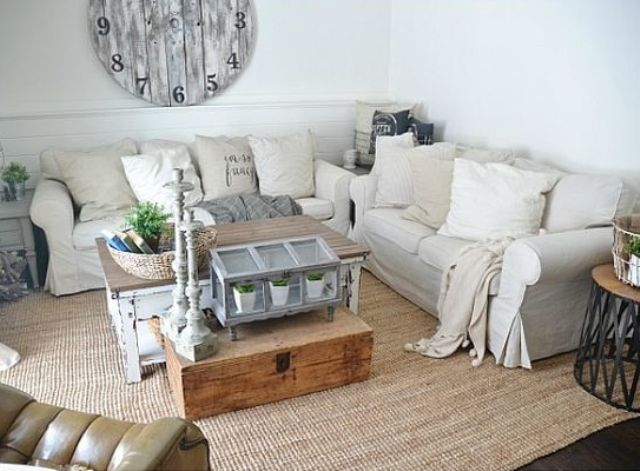 29 awesome ikea ektorp sofa ideas for your interiors for Living room ideas 2 couches