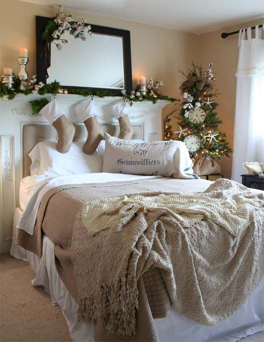 26 coziest winter bedroom d cor ideas to get inspired for Bedroom ornaments ideas
