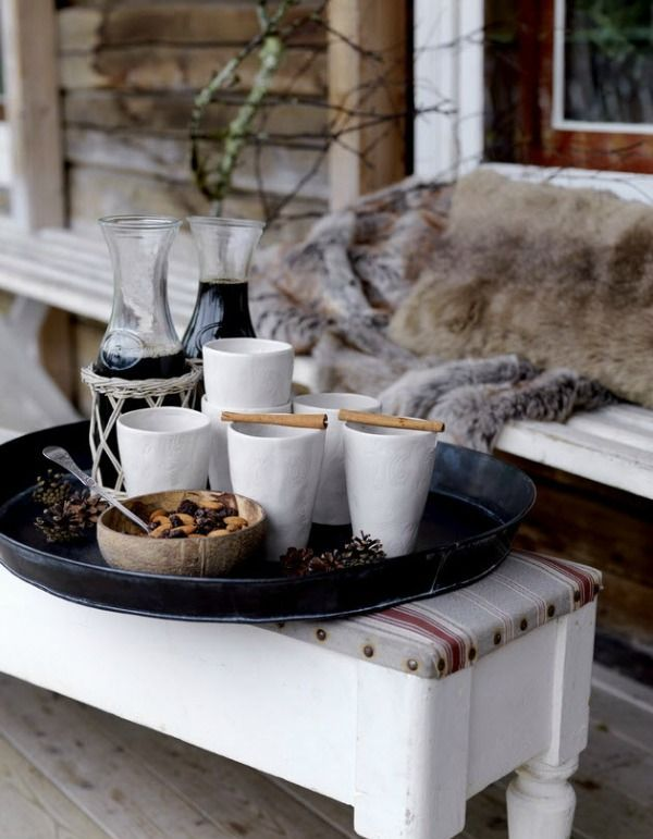 24 Cozy And Beautiful Winter Terrace D Cor Ideas DigsDigs