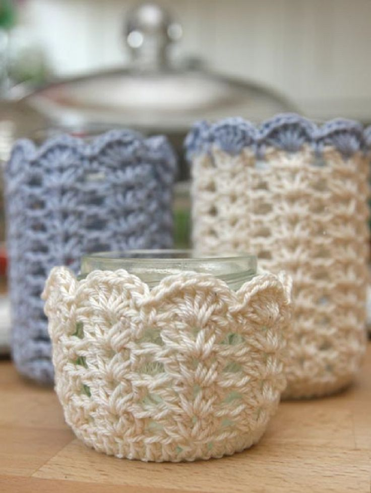 28 cozy and comfy crocheted pieces for home d cor digsdigs Crochet home decor pinterest