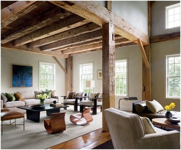 50 Cozy And Inviting Barn Living Rooms