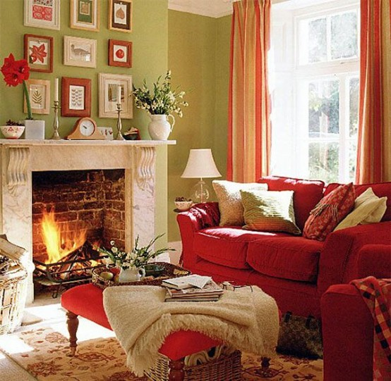 Attractive Cozy And Inviting Fall Living Room Decor Ideas Part 13