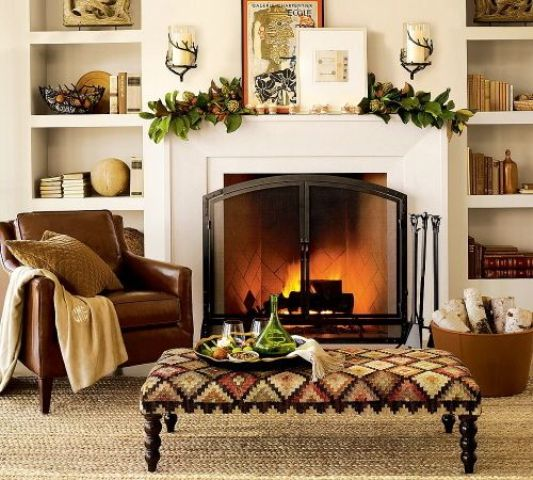 29 Cozy And Inviting Fall Living Room Décor Ideas