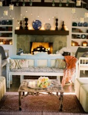 Cozy And Romantic Living Room