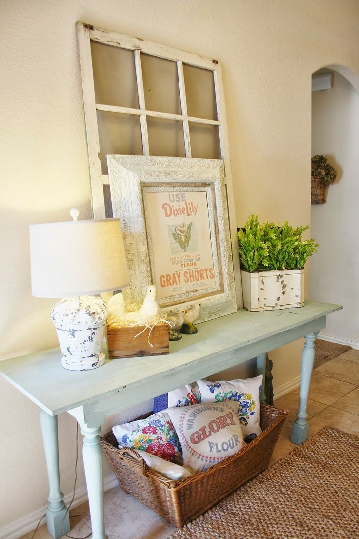 Picture cozy and simple farmhouse entryway decor ideas 9