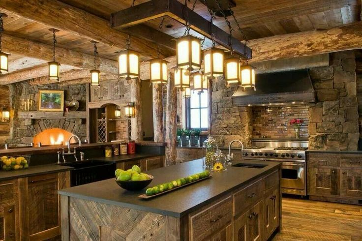 40 cozy chalet kitchen designs to get inspired 41
