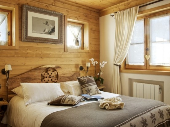 Cozy Chalet Totally Of Wood In France