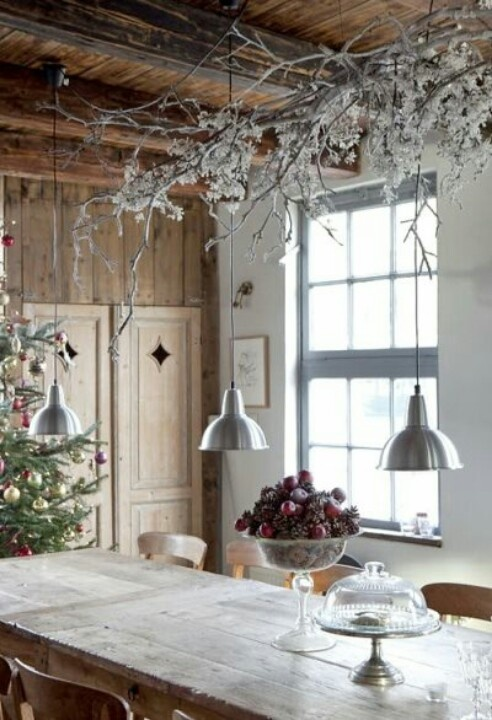 40 cozy christmas kitchen d cor ideas digsdigs for Decorations exterieures de noel