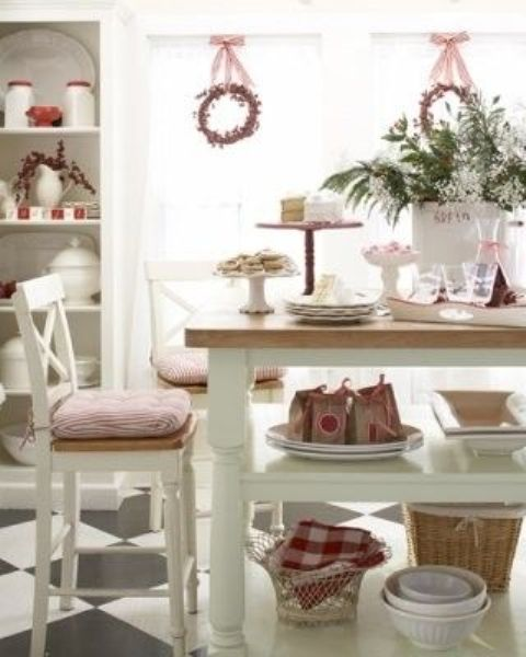 Top 40 Holiday Decoration Ideas For Kitchen: 40 Cozy Christmas Kitchen Décor Ideas