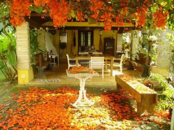 Cozy Fall Patio Decor Ideas