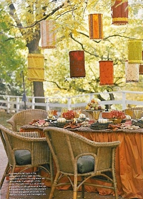 55 Cozy Fall Patio Decorating Ideas - DigsDigs on Patio Decor Ideas id=22143