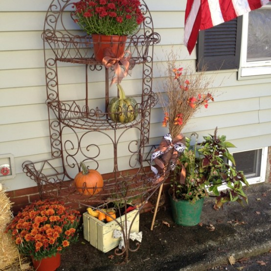For Outside Fall Decorating Ideas: 55 Cozy Fall Patio Decorating Ideas