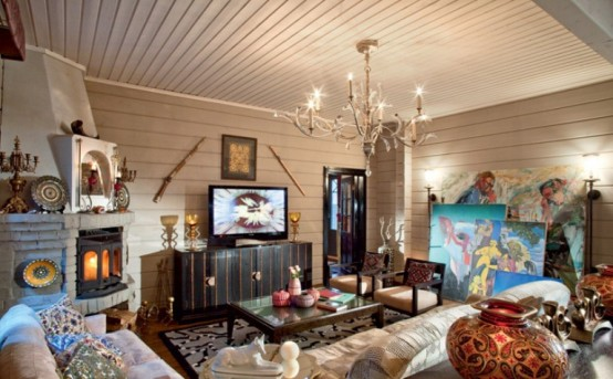Cozy Holiday House In Famous Art Village Near Moscow