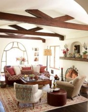 cozy-living-room-designs-with-exposed-wooden-beams-18