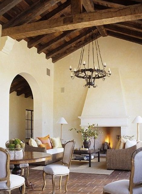Romantic Cozy Bedroom: 36 Cozy Living Room Designs With Exposed Wooden Beams