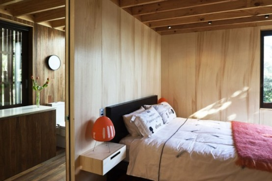 Cozy Modern House Of Natural Wood