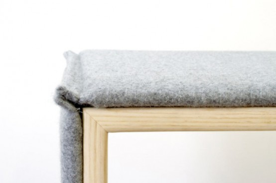 Cozy Parka Furniture Collection Wrapped In Wool