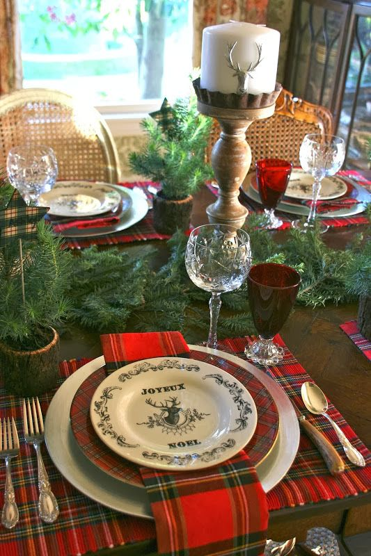 35 Cozy Plaid Dcor Ideas For Christmas DigsDigs