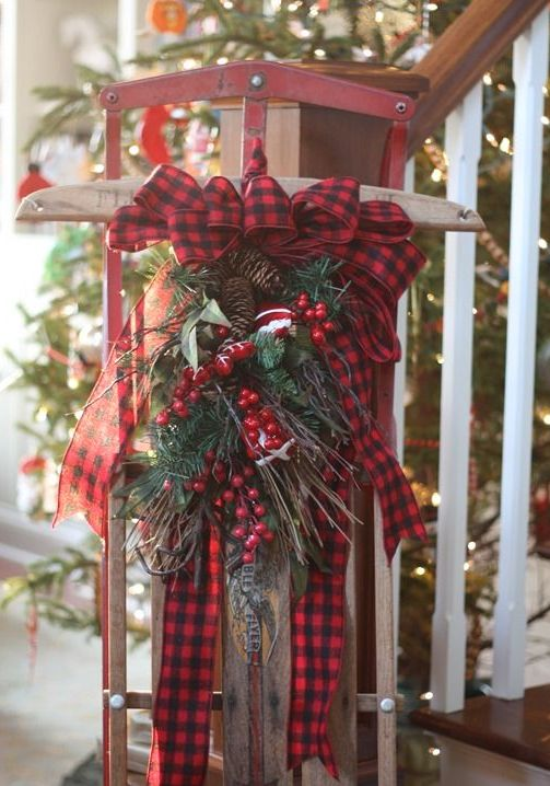 Cozy Plaid Decor Ideas For Christmas