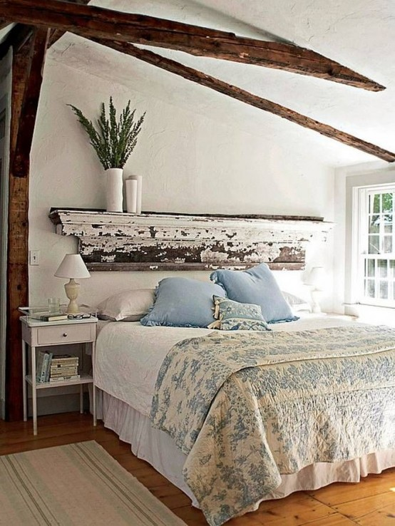 Lovely Cozy Rustic Bedroom Designs If you don ut have an old things made of wood you can always fake