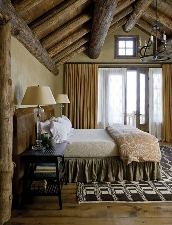 65 cozy rustic bedroom design ideas digsdigs - Old fashioned vintage bedroom design styles cozy cheerful vibe ...