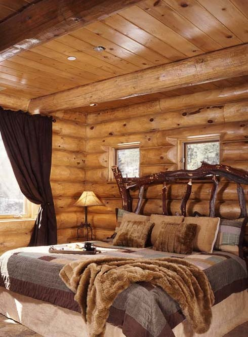 Rustic Cozy Bedroom Designs Ideas As Well Rustic Cabin Bedroom Ideas