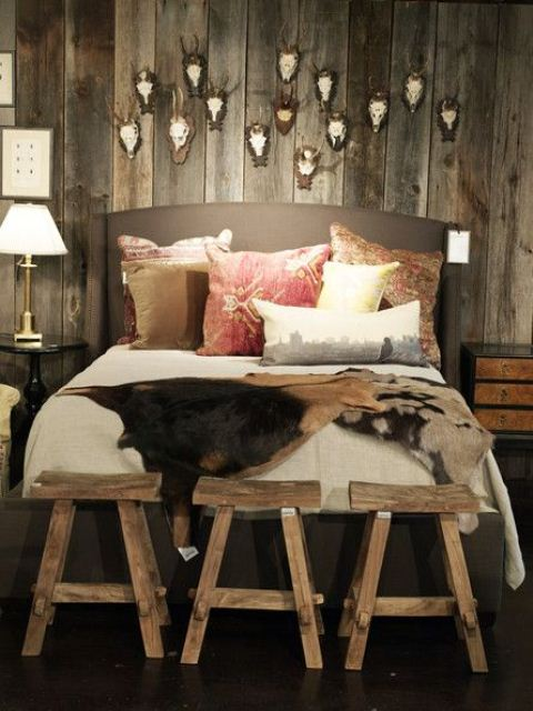 If you re going with a dark color scheme make sure to bring in plenty. 65 Cozy Rustic Bedroom Design Ideas   DigsDigs
