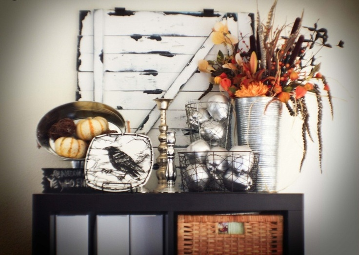 44 Cozy Rustic Halloween Decor Ideas