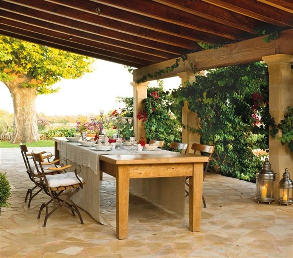 57 Cozy Rustic Patio Designs DigsDigs