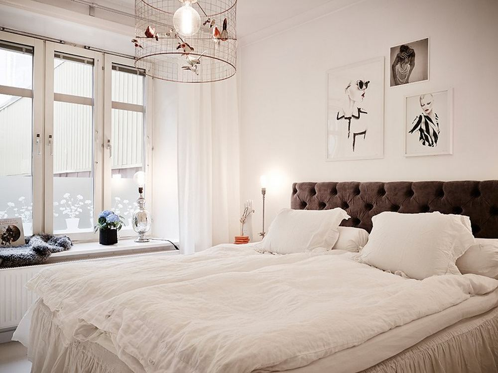 Cozy Scandinavian Apartment With Vintage Touches