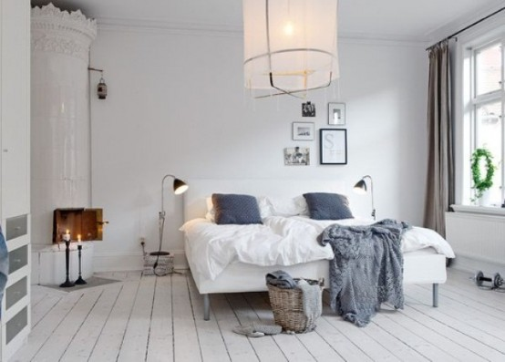 50 Cozy And Comfy Scandinavian Bedroom Designs Digsdigs: industrial scandinavian bedroom