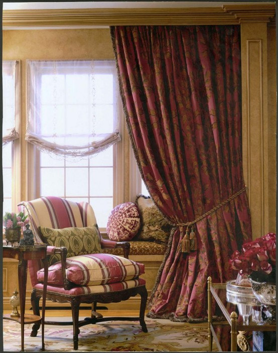 Cozy Sweet Built In Window Seats