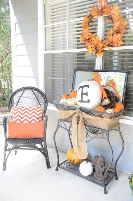 41 Cozy Thanksgiving Porch D Cor Ideas Interior
