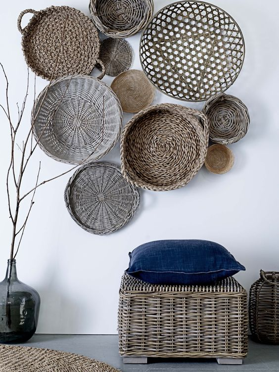 Picture Of cozy wicker touches for your home decor  12
