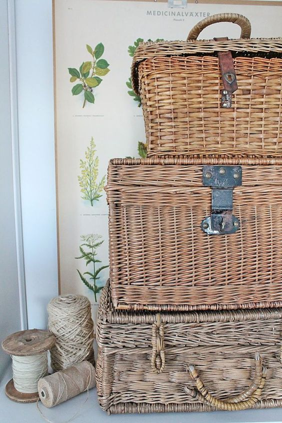 Picture Of cozy wicker touches for your home decor  16