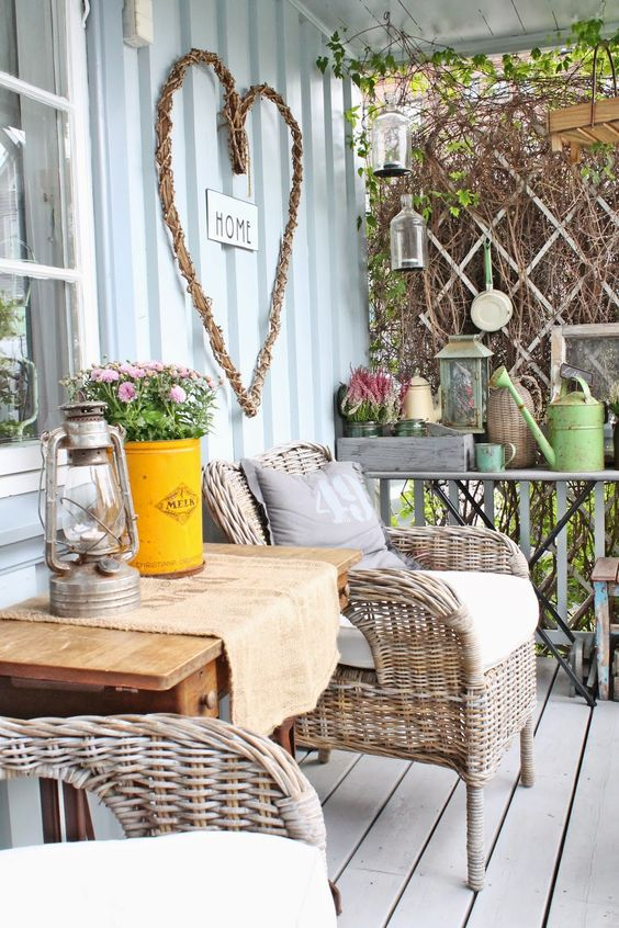Picture Of cozy wicker touches for your home decor  23