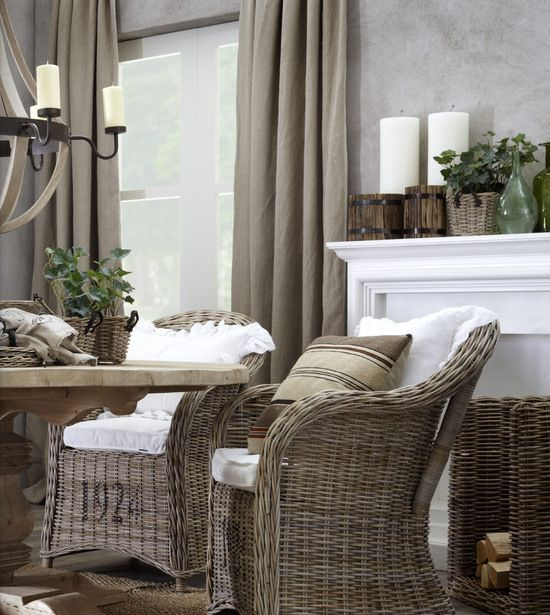 Cozy Wicker Touches For Your Home D Cor