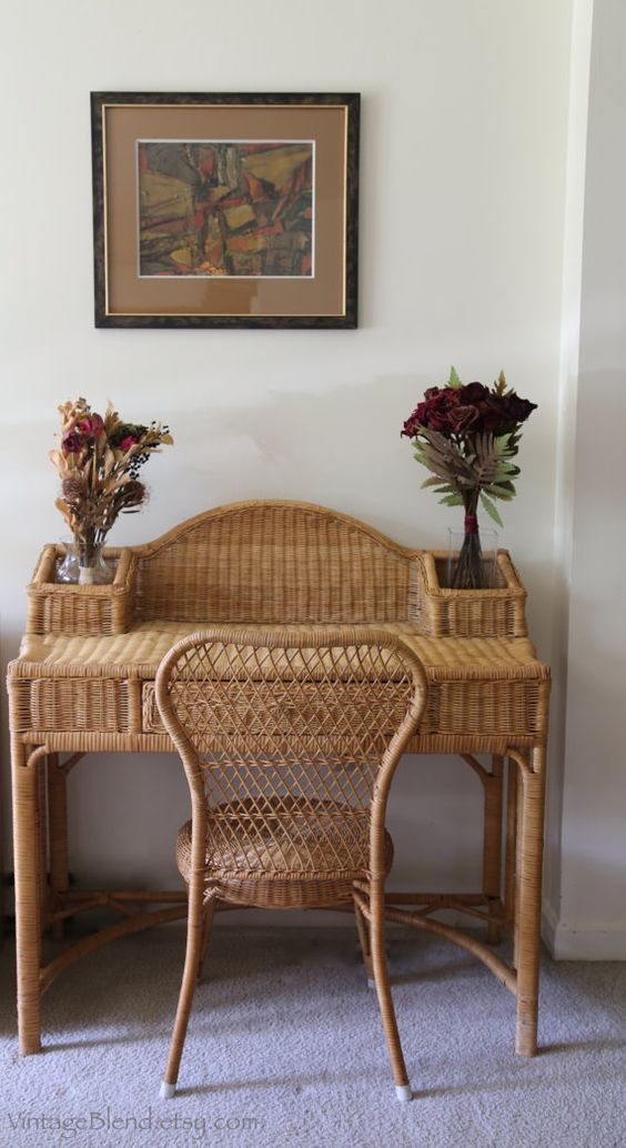Picture Of cozy wicker touches for your home decor  6