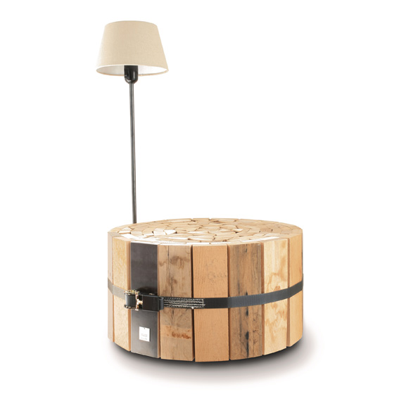 Cr Gti Coffee Table Made From Recycled Wood Planks
