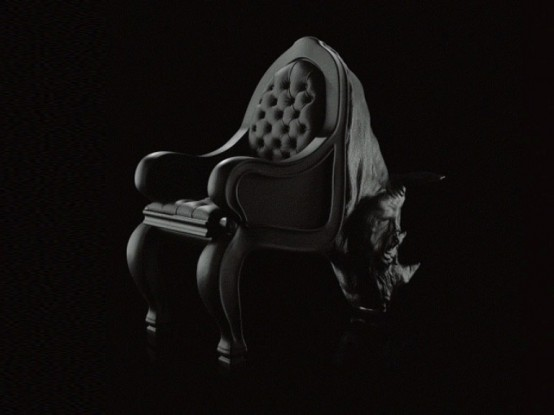 Crazy Rhino Walrus And Octopus Chairs